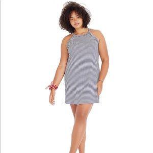 Madewell District Striped Sleeveless Tank Dress
